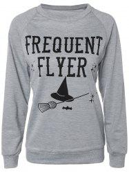 Casual Long Sleeve Letter Sweatshirt -