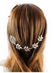 Tree Leaf Embellished Hair Accessory