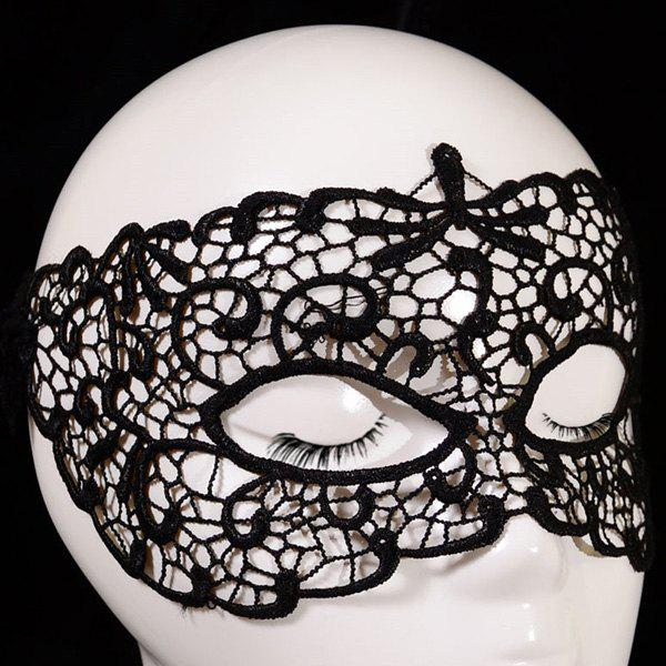 Unique Gothic Style Hollow Out Lace Party Mask