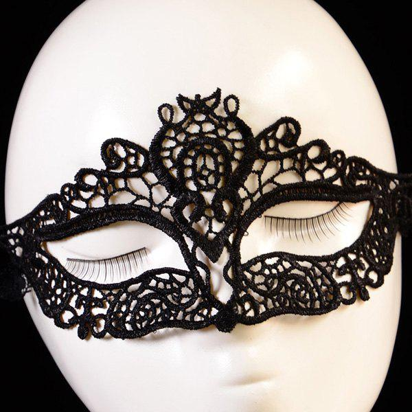 Chic Hollowed Lace Party Mask