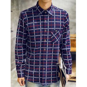 Long Sleeve Checked Thermal Shirt