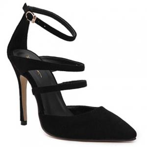 Stiletto Heel Strappy Pumps
