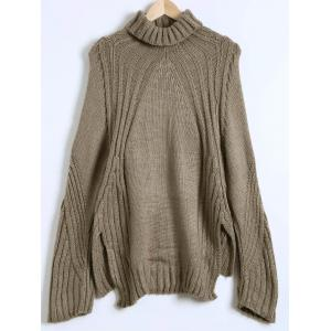 Slit High-Low Loose Sweater