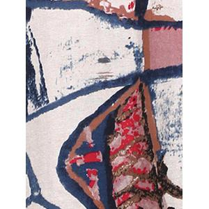 Loose Ink Painting A-Line Dress -