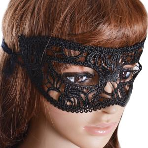 Gothic Style Faux Lace Party Mask -