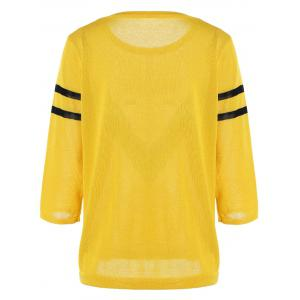 Graphic Pullover Knitwear -