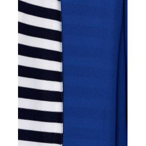 Striped Lined Long Coat -