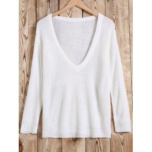 Hollow Out Crochet Pullover Knitwear -