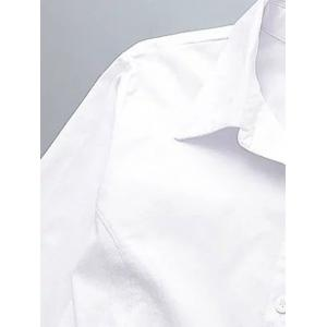 Plus Size Back Ruched Buttoned Shirt -