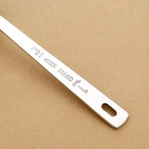 High Quality Stainless Steel ID Seasoning Coffee Spoon - SILVER