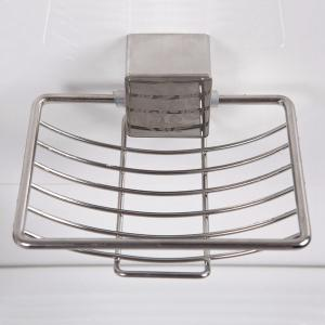 Good Quality Stainless Steel Wall Hanger Soap Rack - SILVER