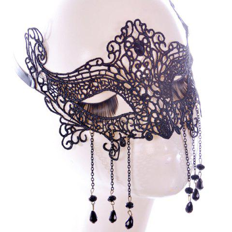 New Gothic Style Fringe Lace Party Mask