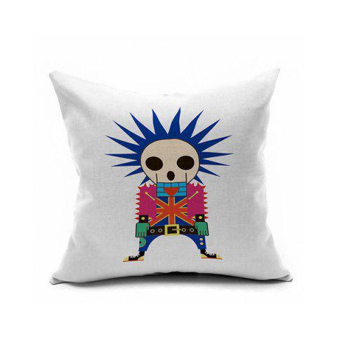 Online Sofa Cushion Boy Skeleton Printed Pillow Case
