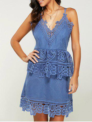 Affordable A Line Cami Lace Dress
