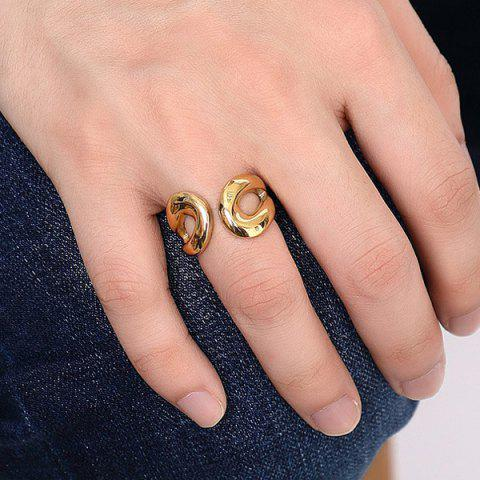Best Stainless Steel Cuff Ring - 9 GOLDEN Mobile
