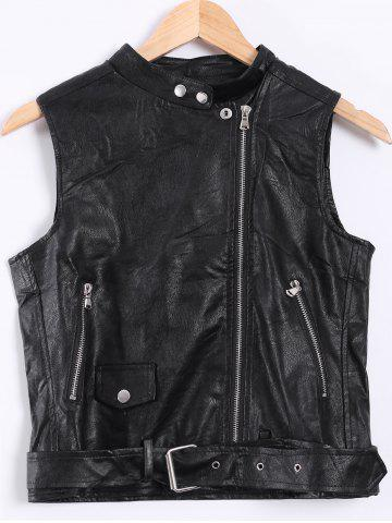 Affordable Punk Style Biker Waistcoat