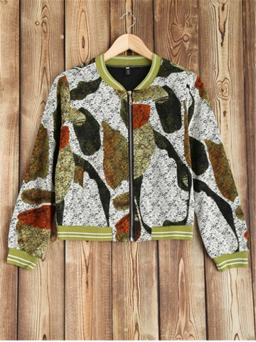 Shop Zip Design Printed Jacket