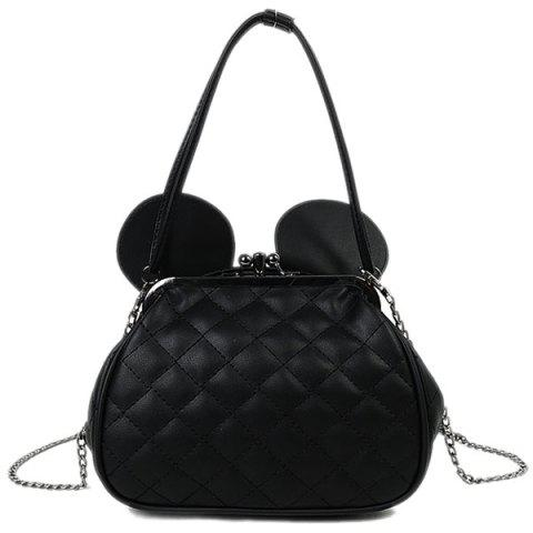 Sale Quilted Kiss Lock Metal Trimmed Tote