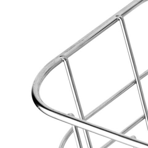 Outfits Home Decor Wall Hanger Stainless Steel Storage Basket - SILVER  Mobile