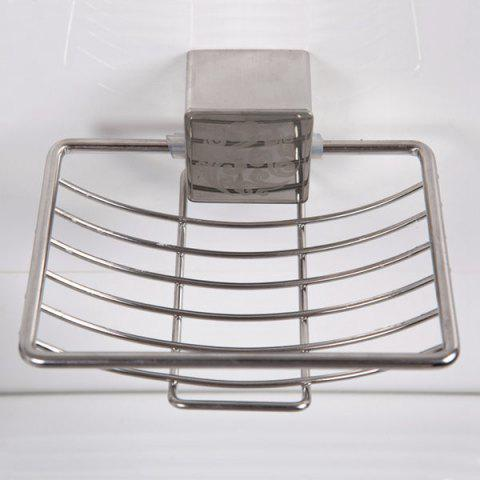 Shop Good Quality Stainless Steel Wall Hanger Soap Rack - SILVER  Mobile