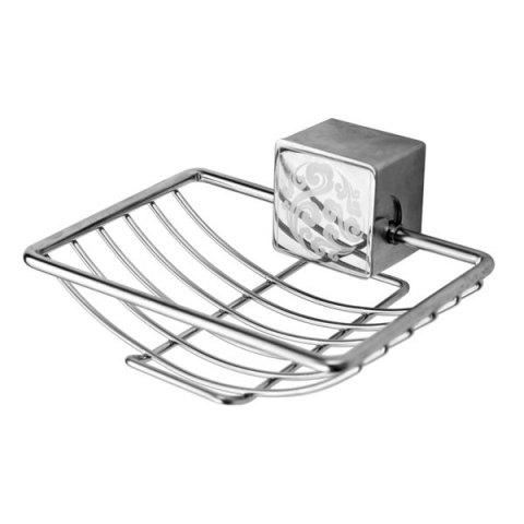 Hot Good Quality Stainless Steel Wall Hanger Soap Rack - SILVER  Mobile