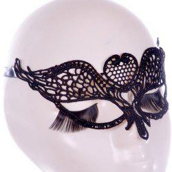 Gothic Style Wings Lace Party Mask