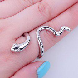 Vintage Polished Snake Ring