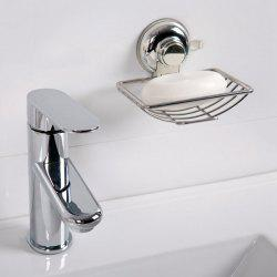 Good Quality Stainless Steel Wall Sucker Soap Rack - SILVER