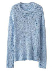 See-Through Open Knit Jumper -