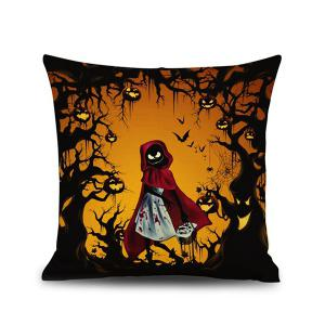 Sofa Cushion Halloween Night Ghost Printed Pillow Case