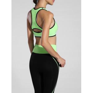 Cut Out Racerback Sporty Bra -