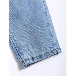 Broken Hole Loose Harem Jeans -