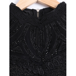 Voile See Through Slimming Blouse -