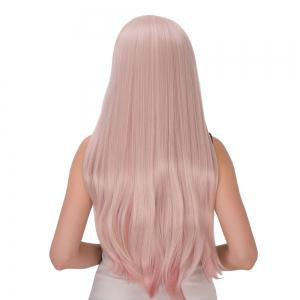 Long Side Bang Layered Tail Adduction Double Color Cosplay Synthetic Wig - COLORMIX