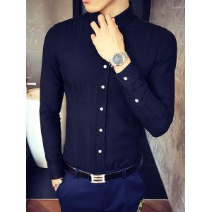 Slim Fit manches longues Button-Down Shirt -