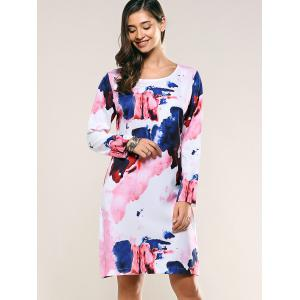 Ink Painting T-Shirt Dress -