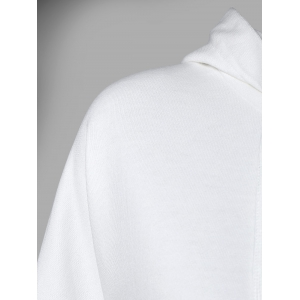 Hooded Long Sleeve Big Pocket Hoodie -