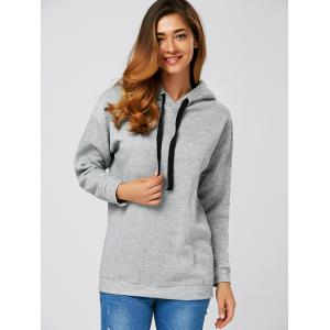 String Thickening Hoodie -