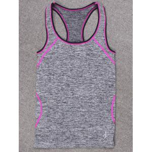 Space-Dyed Sports Running Tank Top -