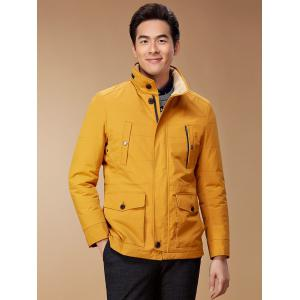 Zip Up Button Pocket Jacket ODM Designer -