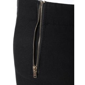 Casual Zipper Embellished Pencil Pants -