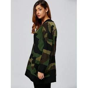 Single Breasted Design Double Pockets Cardigan -