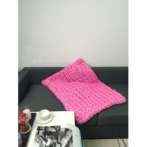 Handwork Comfortable Crochet Braid Sofa Wrap Blanket -