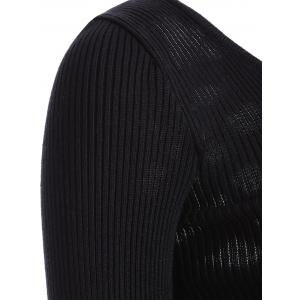 Cut Out Fitting Knitwear -