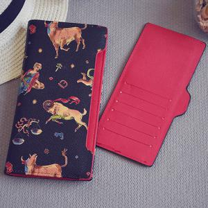 Bi-Fold Wallet Cartoon Imprimer -
