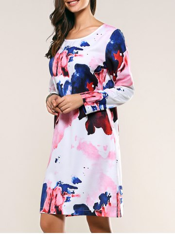 Shop Ink Painting T-Shirt Dress