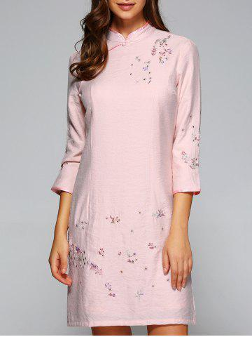 Buy Vintage Embroidered Qipao Dress