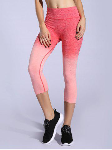 Best Stretchy Ombre Space-Dyed Sporty Leggings