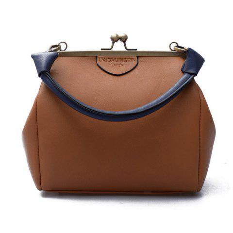 Discount Kiss Lock Top Handle Bag