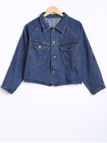 Outfit Cropped Jean Jacket